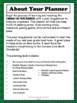 Kindergarten Teacher Binder Common Core Math Planner