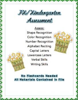PK/Kindergarten Assessment