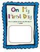 1st Grade - Year Long Memory Book!