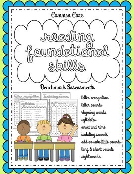 Kindergarten Benchmark Assessments: Common Core Reading Fo