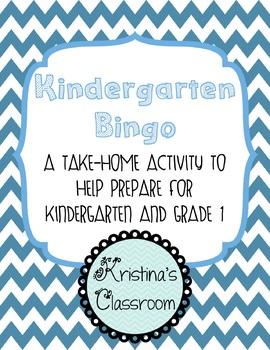 Kindergarten Bingo Home Connection