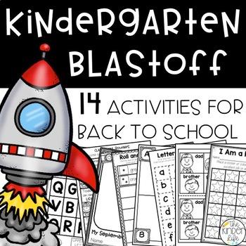 Kindergarten Blastoff: Printables & Activities to Start of