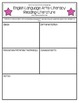 Kindergarten CCSS English Language Arts Idea Planner