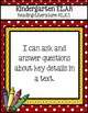 """Kindergarten CCSS """"I can""""Poster Bundle: Primary Colors"""