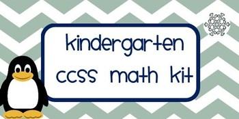 Kindergarten CCSS Math Kit