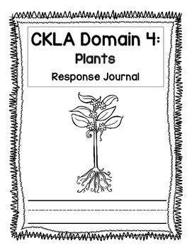 Kindergarten CKLA Domain 4 Journal
