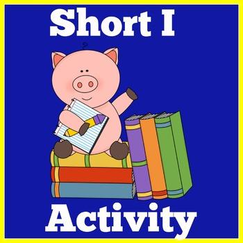 Kindergarten Literacy Center | Short I Activity | Kinderga