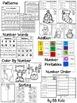 Kindergarten Christmas Activities for Math and Lang. Arts