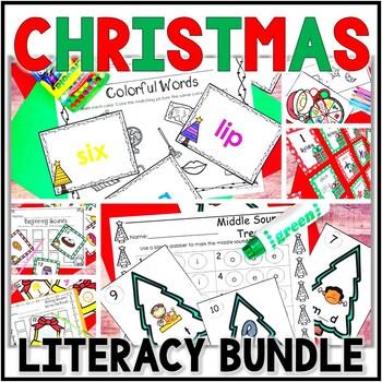 Kindergarten Christmas Literacy Centers- 6 December Readin