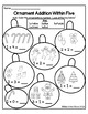 Kindergarten Christmas/Winter Addition to 10 Color by Numb