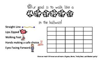Kindergarten Classroom Goal Setting