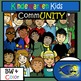 Kindergarten Clip-Art Bundle!  Kids and Objects! 194 pc. B