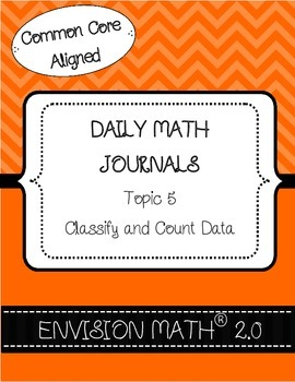 Kinder Common Core Daily EnVision Math® Journals, Topic 5