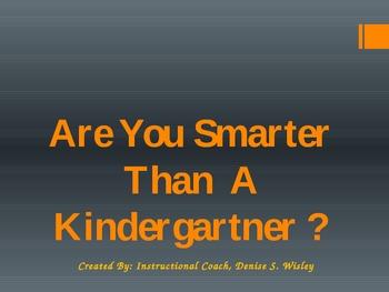 Kindergarten Common Core Foundational Skills for IREAD K