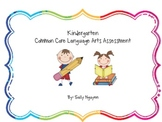 Kindergarten Common Core Language Arts Assessment
