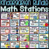Kindergarten Common Core Math Stations for the Year!