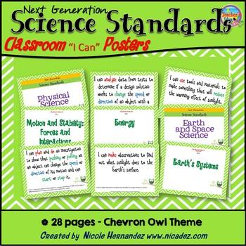 Next Generation Kindergarten Science Standards