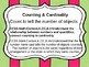 Kindergarten Common Core Math Standards for Wall- Farm