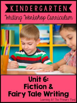 Kindergarten Fiction Writing Lessons {Kinder Writing Works