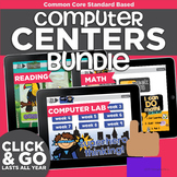Kindergarten Computer Centers Bundle | Common Core Reading