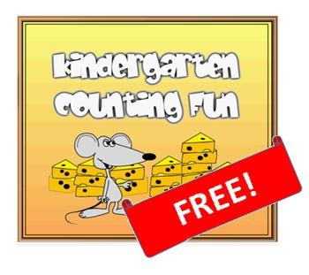 Kindergarten Counting Fun: FREE fun clips!