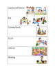 Kindergarten Daily Schedule Cards