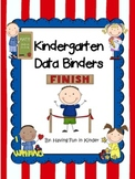 Kindergarten Data Binders - Kindergarten Data Notebooks -