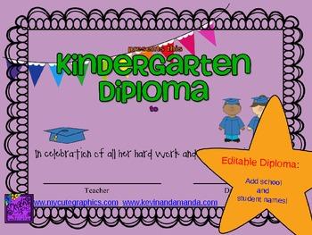 Kindergarten Diploma