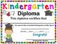 Kindergarten Diploma and Pre-Kindergarten Certificate