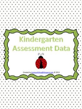 Kindergarten ELA Data Collection Notebook