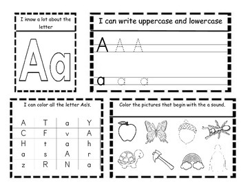 Kindergarten ELA Interactive Letter and Sound Notebooks