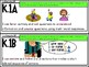 """Kindergarten ELAR TEKS Illustrated """"I CAN"""" Statements"""