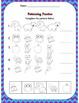 Kindergarten Emergency Sub Plan Packet *20 pages*