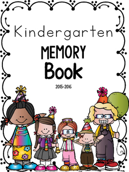 Kindergarten End of the Year Memory Book