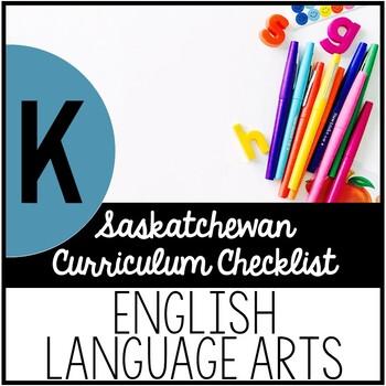 Kindergarten English Language Arts - Saskatchewan Curricul