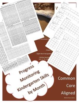 Kindergarten Entrance and Progress Monitoring Assessments