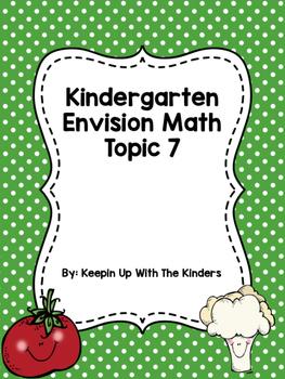 Kindergarten Envision Math Topic 7