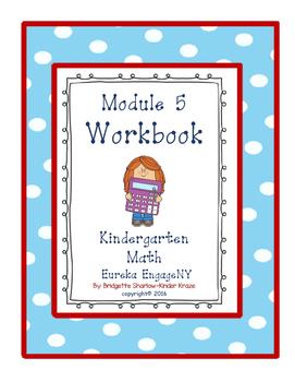Kindergarten Eureka EngageNY Module 5 Workbook (Copying Ma