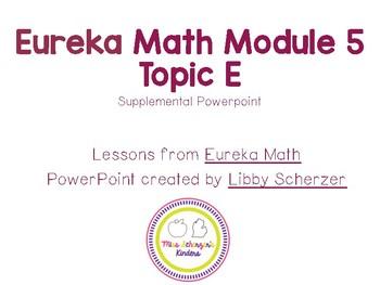 Kindergarten Eureka Math Supplemental Powerpoint- Module 5