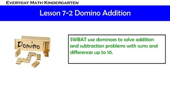 Kindergarten Everyday Math 7.2