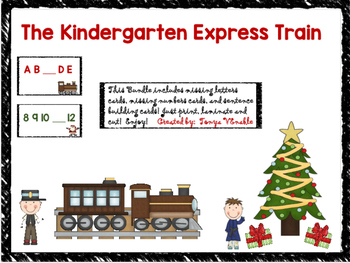 Kindergarten Express Train Bundle