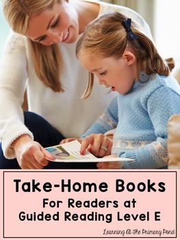 Take Home Books {for Kindergarten / First Grade Readers at