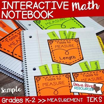 Kindergarten, First & Second Grade Math Interactive Notebo