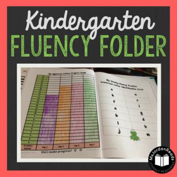 Kindergarten Fluency Folder for Daily Fluency Practice