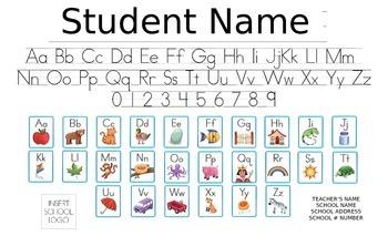 Kindergarten Folder EDITABLE 1