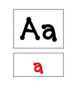 Kindergarten Fountas & Pinnell Word Wall Plain - Dot & Pri