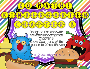 Kindergarten GO Math! Chapter 8: Show, Count, & Write Numb