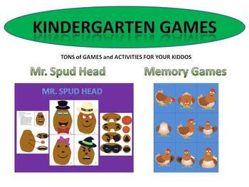 Kindergarten Games  - Math, Phonics, Matching and More!