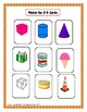 Kindergarten Geometry:  2-D and 3-D Shapes