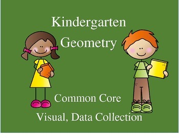 Kindergarten Geometry--Common Core--Visual, Data Collection